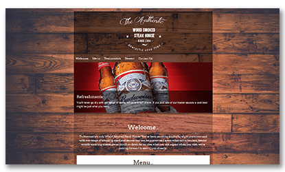 Fluid Web Development American Grill